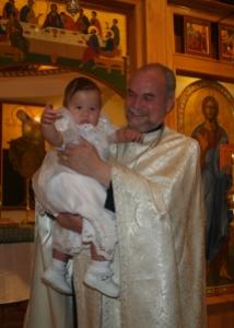 Maddy & Fr N - Baptism 090614