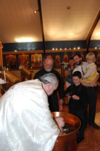 Rebekah's baptism